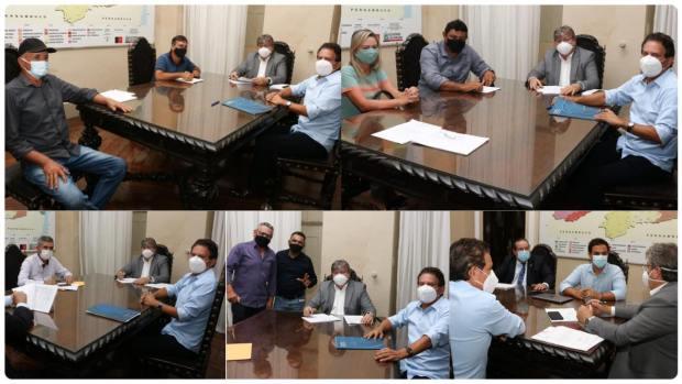 142022150 271977161011247 5816315990289305251 n 1 - Tião Gomes reúne prefeitos de sua base e apresenta demandas de cidades do Brejo ao governador