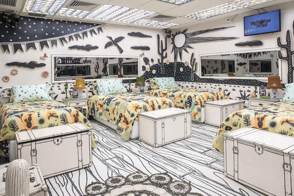 20210121 bbb21 fr 84 - Globo divulga fotos da casa do BBB21; decoração faz referência à novelas da emissora – VEJA FOTOS