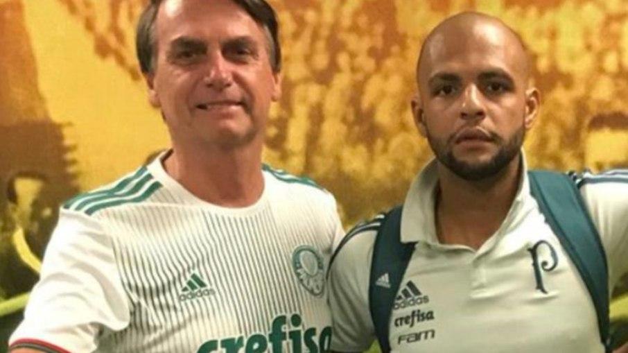 Convidado para final Palmeiras e Santos, Bolsonaro terá que testar para Covid-19