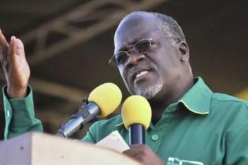 """Capturar 58 - Líder da Tanzânia diz que """"Deus protegerá"""" contra a Covid-19 e despreza vacinas"""