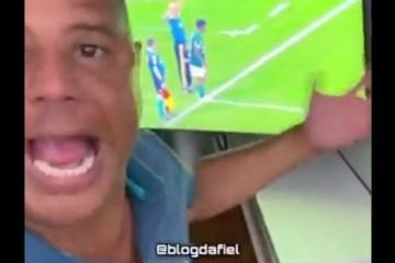 Marcelinho Carioca publica vídeo revoltado com a derrota do Corinthians – VEJA VÍDEO