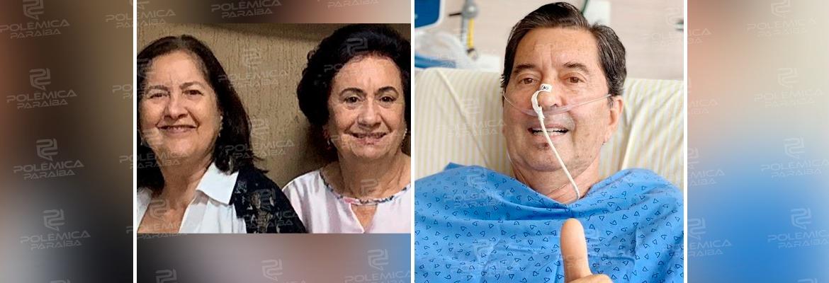 Maguito e irmãs - Maguito Vilela já havia perdido duas irmãs para a Covid-19, antes de morrer nesta quarta, devido a complicações da doença
