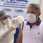 VERISSINHO - Sem trabalhar na linha de frente, prefeito de Pombal toma vacina contra a Covid-19 e recebe críticas; VEJA VÍDEO
