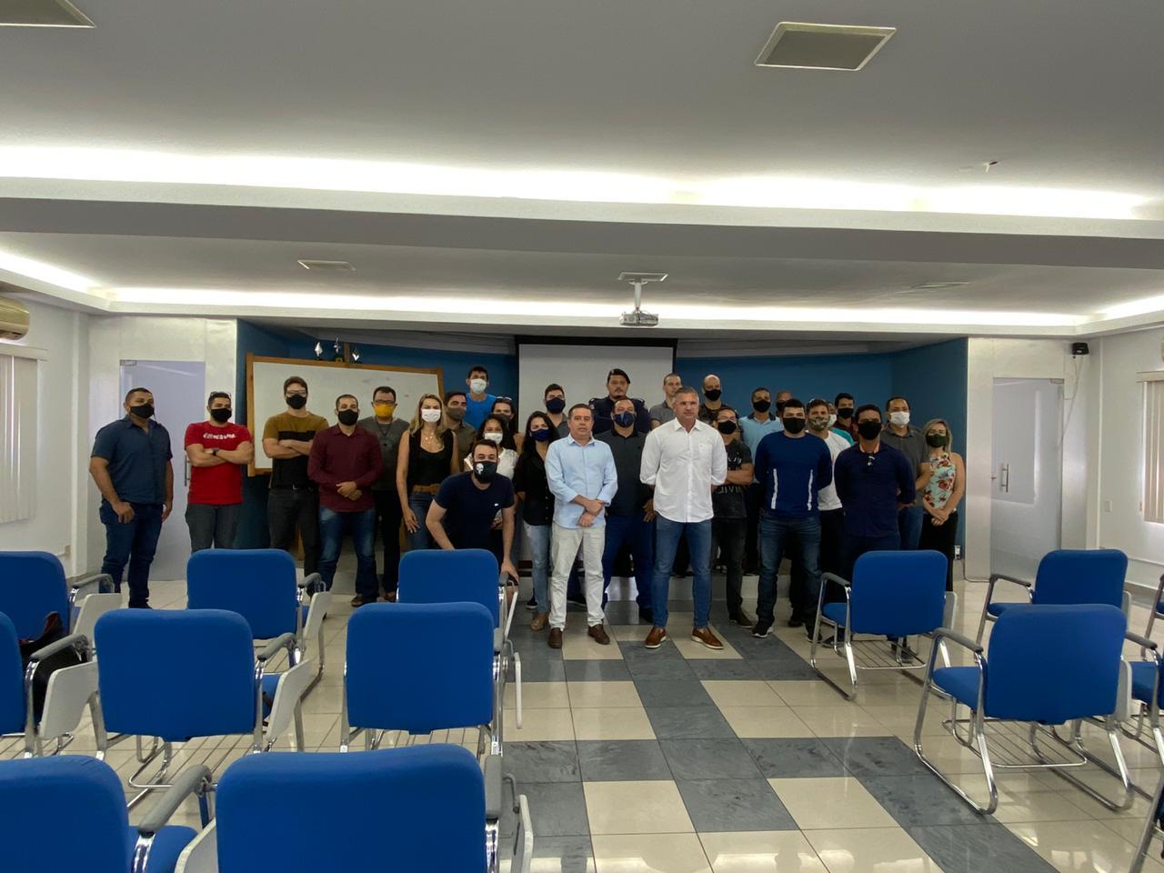 WhatsApp Image 2021 01 08 at 16.15.31 - Secretário de Segurança Pública de JP João Almeida, se reúne com Guardas Municipais para apresentar projetos da gestão