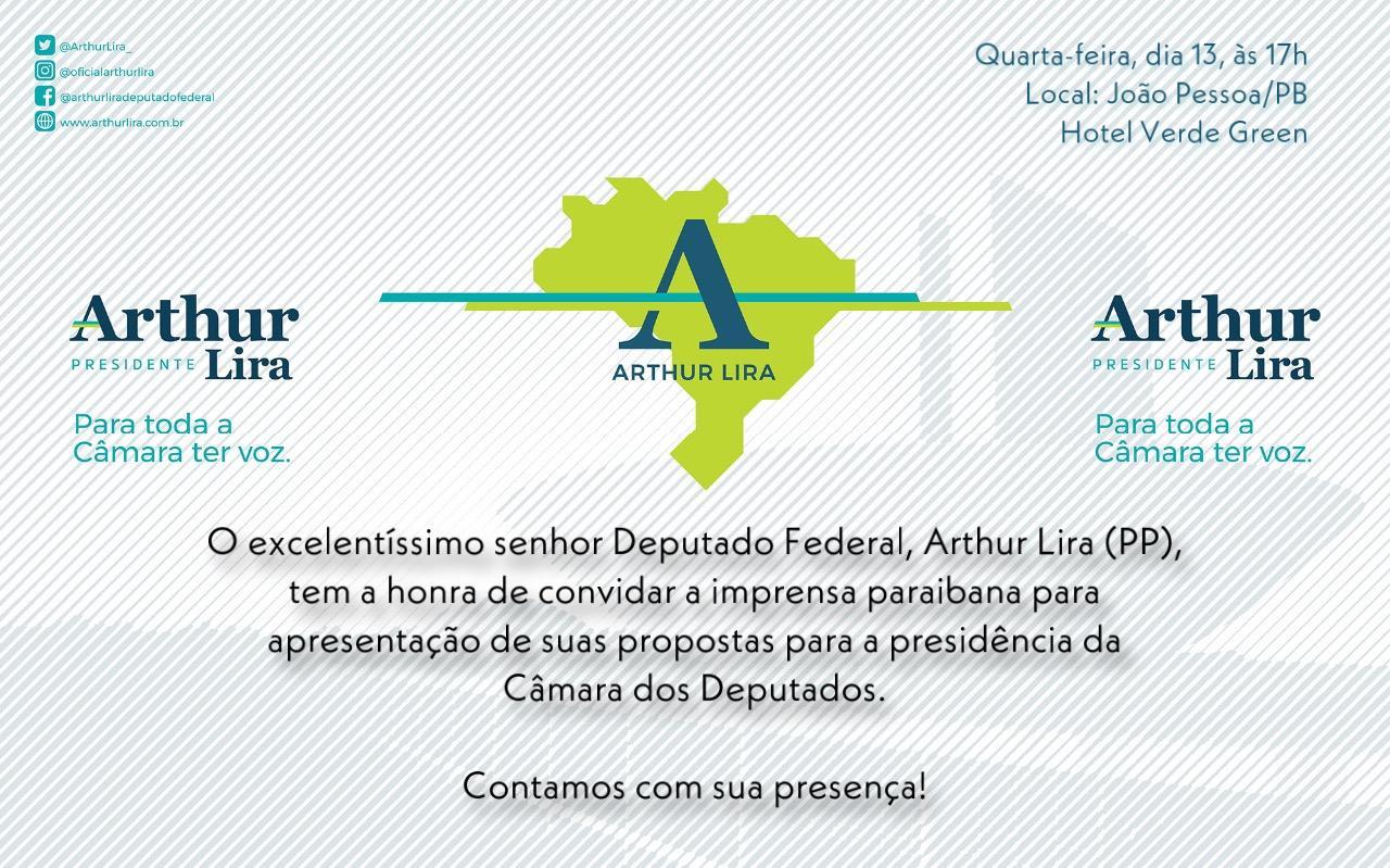 WhatsApp Image 2021 01 12 at 15.25.46 2 - Arthur Lira fará coletiva à imprensa na Paraíba e apresentará propostas em jantar com parlamentares; confira