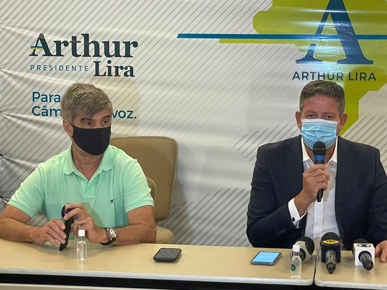 WhatsApp Image 2021 01 13 at 18.10.31 3 - Arthur Lira prega 'união' com Aguinaldo e cita proximidade com bancada paraibana: 'amigos de uma década'; VEJA VÍDEO