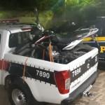 WhatsApp Image 2021 01 25 at 16.55.30 - Ação conjunta entre PRF e PM da Paraíba recupera dois veículos roubados e que circulavam adulterados no cariri paraibano