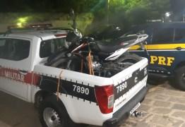 Ação conjunta entre PRF e PM da Paraíba recupera dois veículos roubados e que circulavam adulterados no cariri paraibano