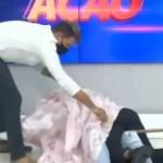 WhatsApp Image 2021 01 27 at 12.43.13 - CENA INUSITADA: Samuka Duarte aparece junto com seu maquiador debaixo de lençol durante programa - VEJA VÍDEO