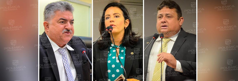 WhatsApp Image 2021 01 29 at 16.07.34 - 1ª SECRETARIA DA ALPB: João Gonçalves, Pollyana Dutra e Wallber Virgulino inscrevem nomes para Mesa Diretora