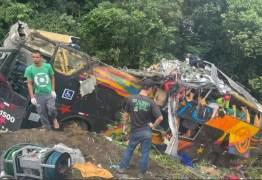 Acidente deixa 14 mortos e 32 dois feridos, no litoral do Paraná