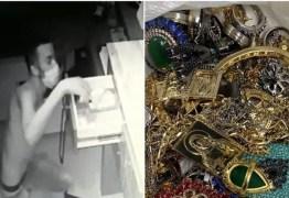 Criminoso dorme em shopping e consegue furtar joalheria