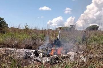 avi o Palmas - IMAGENS CHOCANTES: Acidente com avião mata jogadores e presidente do Palmas; VEJA VÍDEO