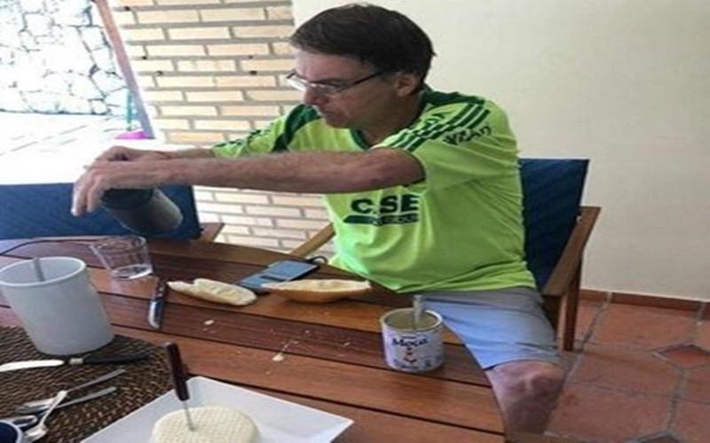 bolsonaro e o leite condensado - SUSPEITO: pequena empresa que faturou 37 milhões em contratos com o Governo Federal é defendida pelo mesmo escritório de advocacia da Havan - VEJA