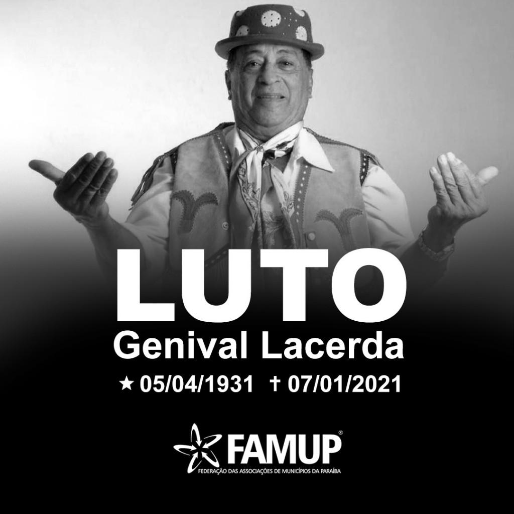 """c9a6677d 1784 4d96 bcb8 9d3c940aec33 - Famup lamenta morte de Genival Lacerda: """"Seu talento engrandeceu a Paraíba"""""""