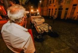 Prefeitura inicia trabalho de limpeza e zeladoria no Centro Histórico da Capital