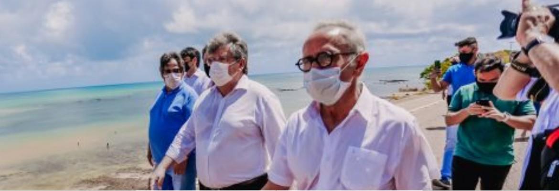 cicero e joao 1 - Cícero Lucena e João Azevêdo visitam Estação Cabo Branco e planejam ações para reativar o complexo