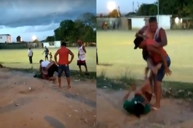 croppedImg 140541082 - IMAGENS FORTES: Homem deixa mulher desacordada após espancamento e é preso por tentativa de feminicídio - VEJA VÍDEO
