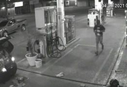 Ação de bandidos em posto de combustível é registrada por câmeras de segurança, na Zona Sul de João Pessoa – VEJA VÍDEO