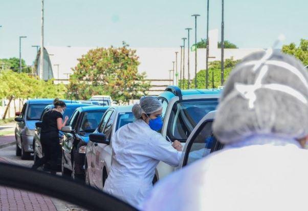 drive - Com sistema drive thru, João Pessoa terá 70 locais de vacinação e usará ginásios