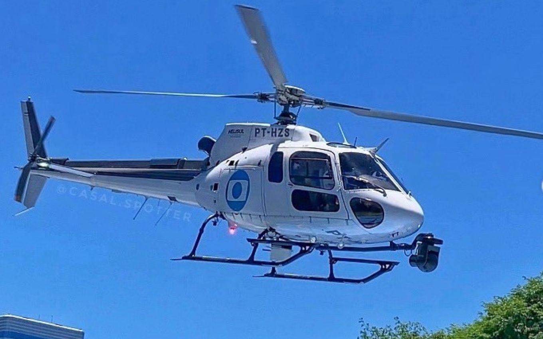 esquilo globo - Para reduzir gastos, Globo troca aeronave 'Globocop' e repórteres se recusam a voar - ENTENDA