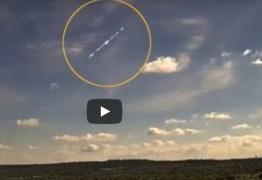 Queda de meteoro em plena luz do dia causa estrondo na Bahia – VEJA VÍDEO