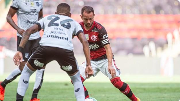 imagem 2021 01 10 184859 - NO MARACANÃ: Ceará vence Flamengo no Maracanã e aumenta pressão sobre time rubro-negro