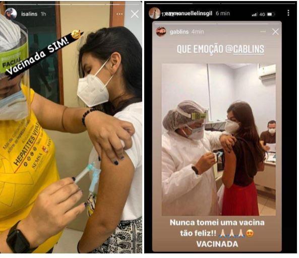 irmas - CORONAVAC: Filhas de empresário são vacinadas enquanto profissionais da saúde ficam sem data para receber