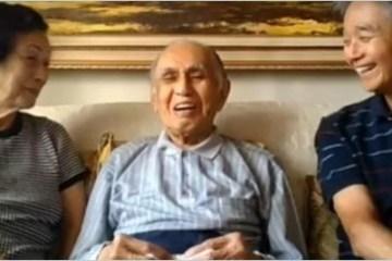 jap - Japonês de 102 anos que mora em Curitiba superou covid-19 e gripe espanhola