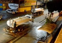 Prefeitura de João Pessoa inicia ação de limpeza e sanitização nos mercados públicos