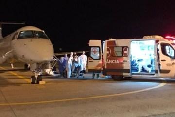 manaus transferencia pacientes coronavirus sao luis 15012021234218895 - Pacientes transferidos de Manaus para tratamento da Covid-19 chegam à Paraíba; VEJA VÍDEO