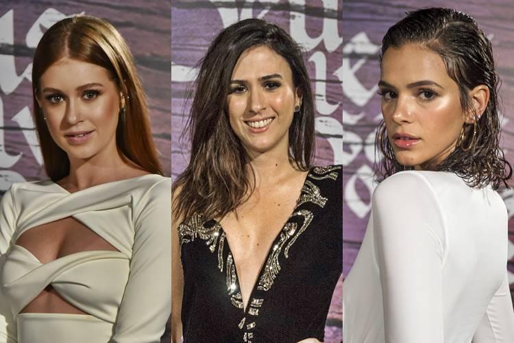 marina ruy barbosa tata werneck bruna marquezine - Saiba quem são os 10 perfis brasileiros mais seguidos no Instagram em 2020