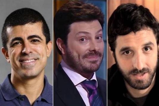 Além de Calabresa, Melhem processa Gentili e Rafinha Bastos em R$ 50 mil
