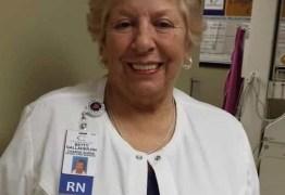 Enfermeira que recusou se aposentar na pandemia morre de Covid-19