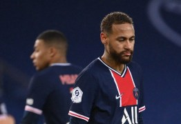 Neymar desfalcará o PSG na estreia de novo técnico