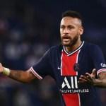 neymar 2 - Neymar é suspenso após receber três cartões amarelos em 10 jogos no Campeonato Francês