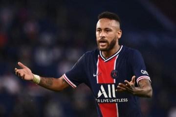Neymar é suspenso após receber três cartões amarelos em 10 jogos no Campeonato Francês