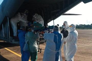 paciente 1 - Rondônia começa a transferir pacientes com covid-19 para outros estados; Paraná recebeu 13 pessoas