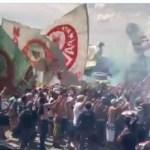 palmeiras 2 - FINAL DA LIBERTADORES: torcida do Palmeiras se aglomera em aeroporto antes de viagem - VEJA VÍDEO