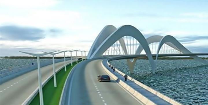 ponte cabedelo - Decreto no Diário Oficial prevê parceria para construção de ponte ligando Cabedelo e Lucena