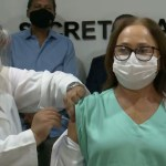 primeira vacinada na pb - 1ª vacinada na PB faz apelo: 'Lembrem-se que a pandemia não acabou'