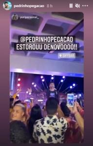 screenshot 2 191x300 - APÓS DENÚNCIA: gravação do DVD de Pedrinho Pegação é encerrada em bar de João Pessoa