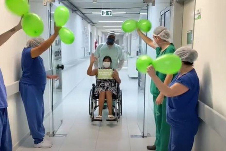 sem titulo - EMOÇÃO! Mais dois pacientes de Manaus recebem alta médica do HULW nesta sexta-feira