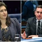tebet e pacheco - Candidatos à presidência do Senado tem posições diferentes sobre auxílio emergencial e prazo para aprovar reformas - VEJA