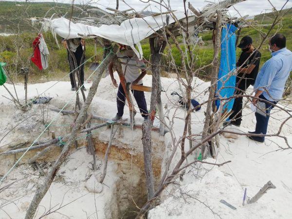 trabalho escravo - Trabalhadores são resgatados na divisa entre PB e RN em condições análogas à escravidão