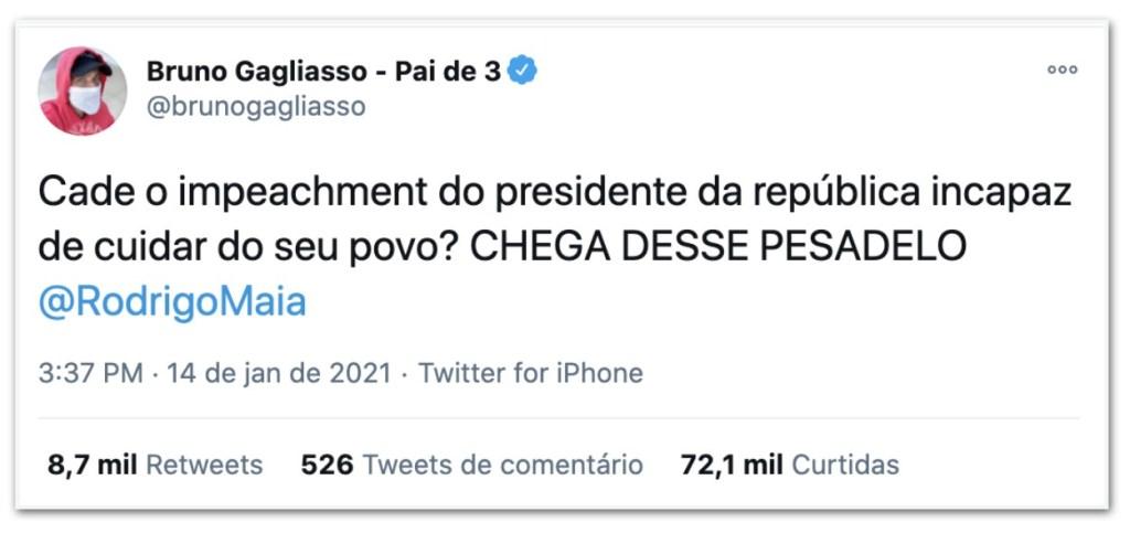 tt7 1024x483 - Nas redes sociais, Maia é pressionado a pautar impeachment de Bolsonaro