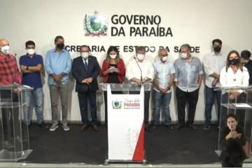 IMUNIZAÇÃO COMEÇOU: Governo da Paraíba vacina primeiras pessoas no estado – SIGA AO VIVO