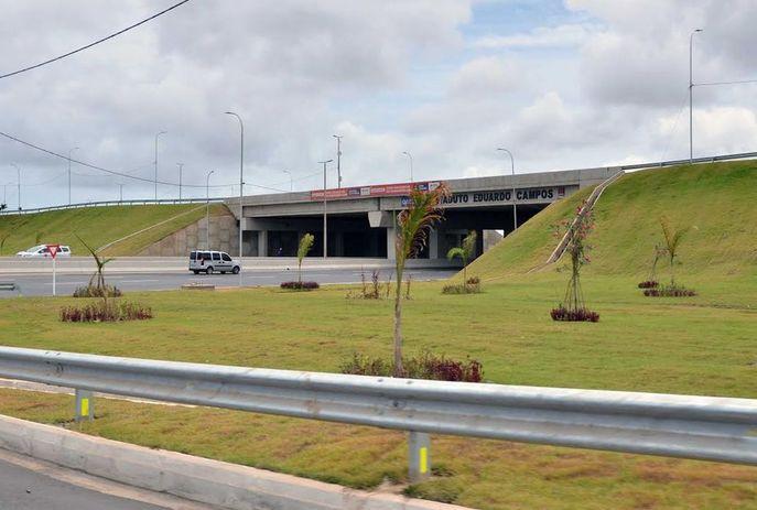 viaduto do geisel - ATENÇÃO NO TRÂNSITO: viaduto do Geisel passará por obras de 10 dias a partir desta terça-feira