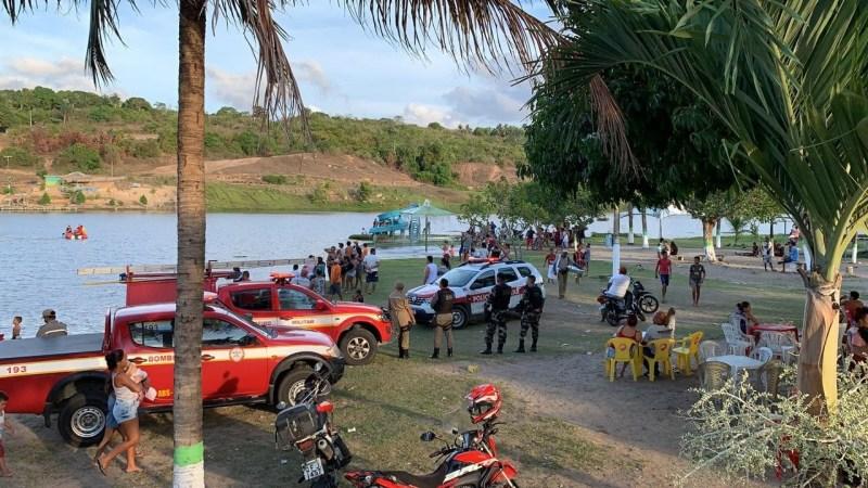 whatsapp image 2021 01 12 at 17.12.43 1 - PARAÍBA: Bombeiros encontram corpo de homem que desapareceu ao mergulhar em açude