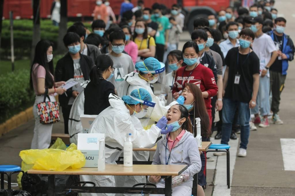 wuhan 1 - Equipe da OMS chega a Wuhan, na China, para investigar origens da Covid-19